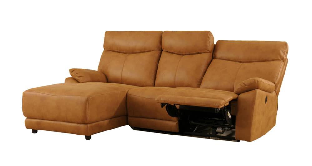 モーション付シェーズロングソファ アストラSRシェーズモーション付FBCA:座面はポケットコイル仕様でソフトな座り心地です。