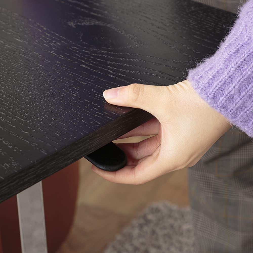 :レバー式昇降テーブル