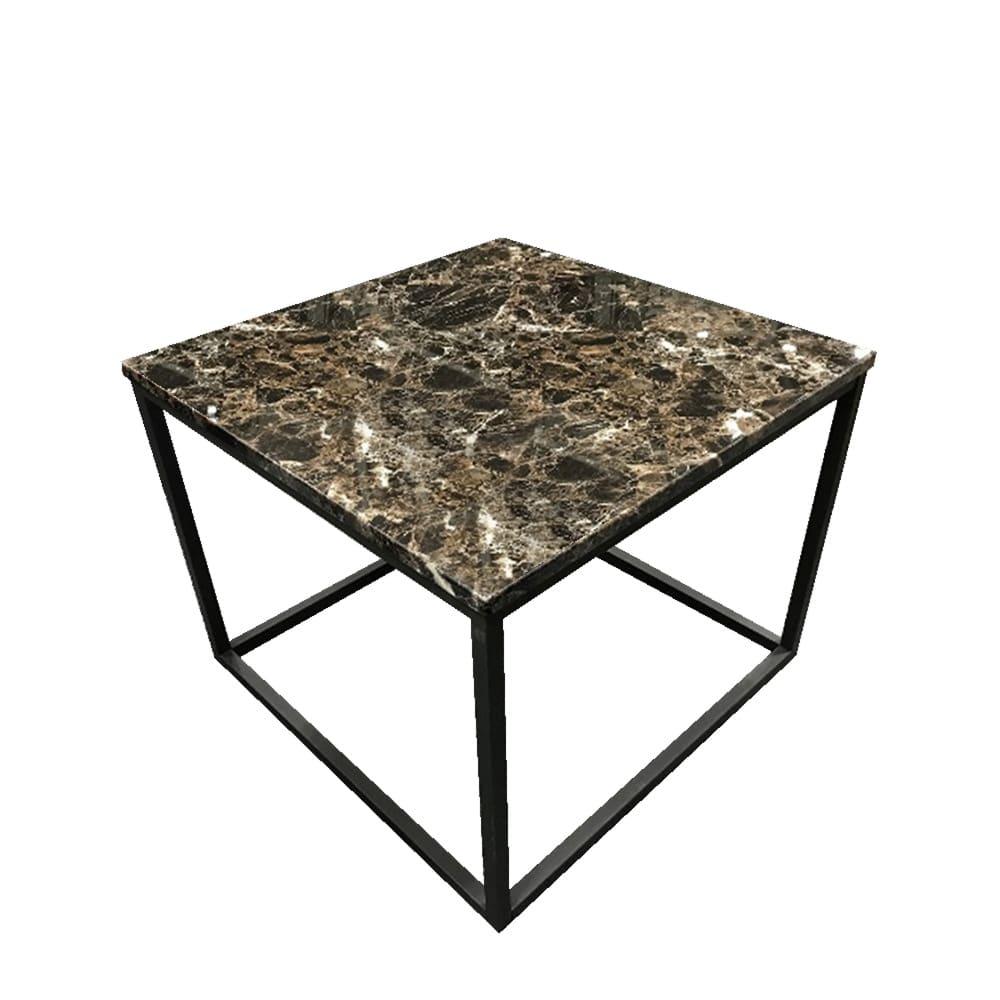 リビングテーブルアクア T−183−4‐6060:大理石柄の天板と細いスチール脚を組み合わせた洗礼されたデザインです