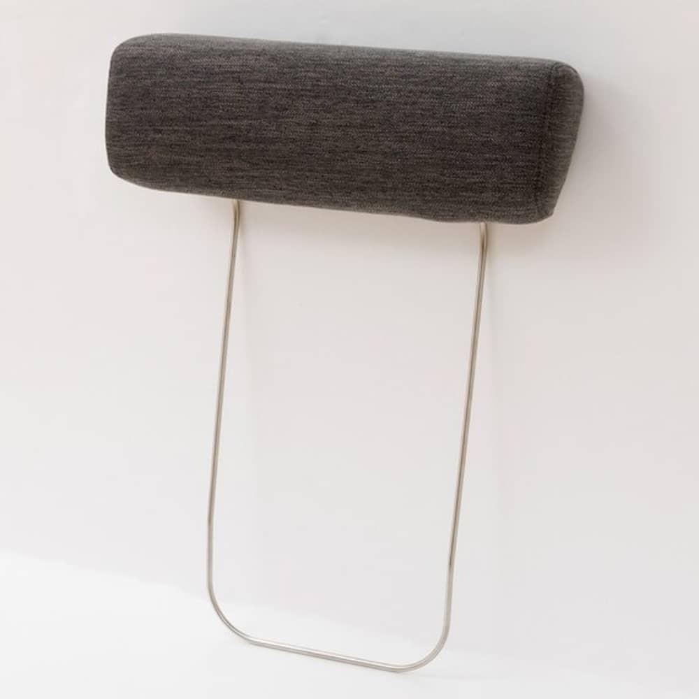 【ニトリ】 別売りヘッドレスト NポケットシリーズDR-GY グレー:ヘッドレストでよりくつろげる空間に