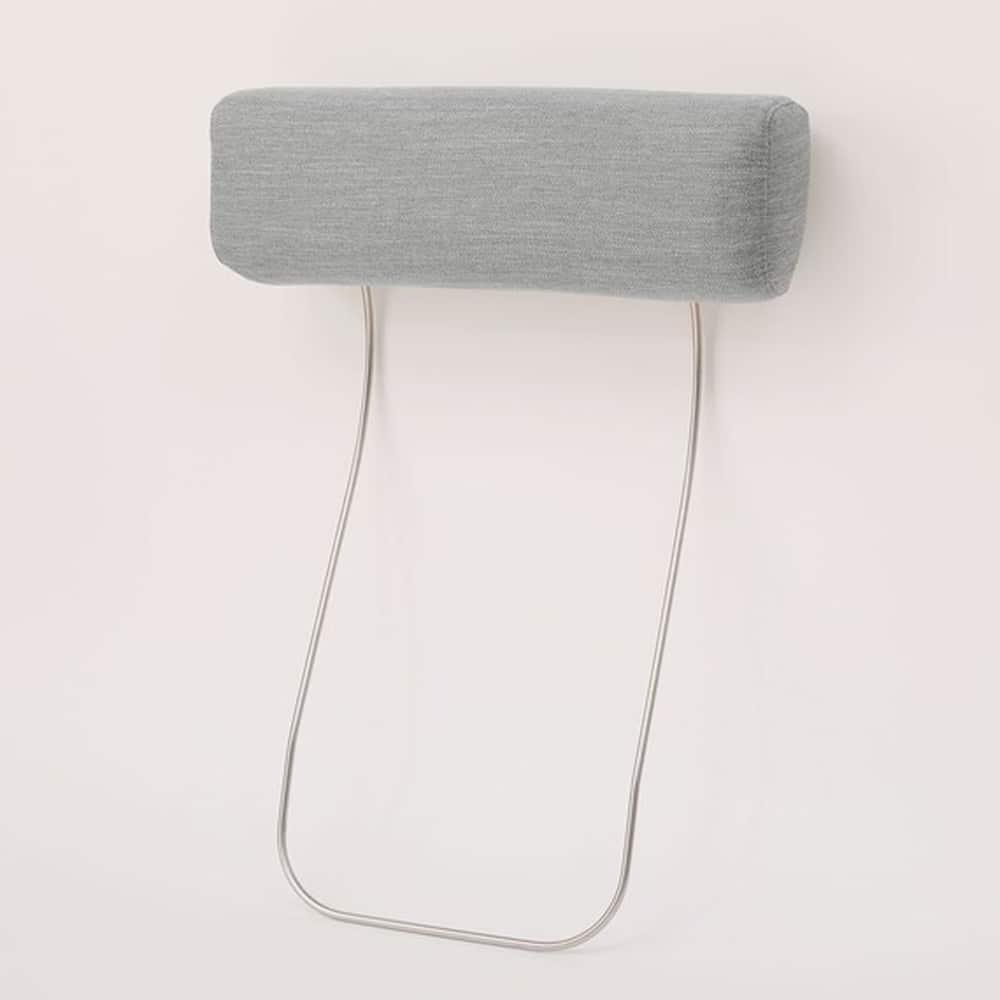【ニトリ】 別売りヘッドレストA15用 DR-MGY ミドルグレー:ヘッドレストを使用しハイバックタイプとして