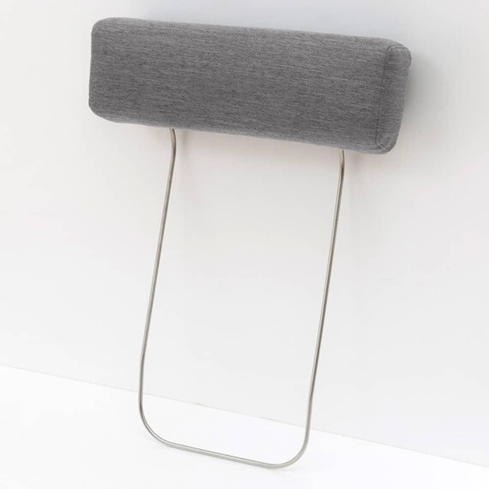 【ニトリ】 別売りヘッドレスト NポケットシリーズDR-MGY ミドルグレー:ヘッドレストでよりくつろげる空間に