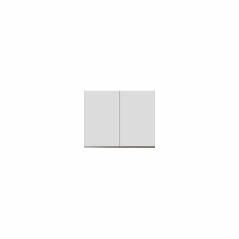 パモウナ 壁面収納 上置 CA−80U W:収納をまとめてすっきり