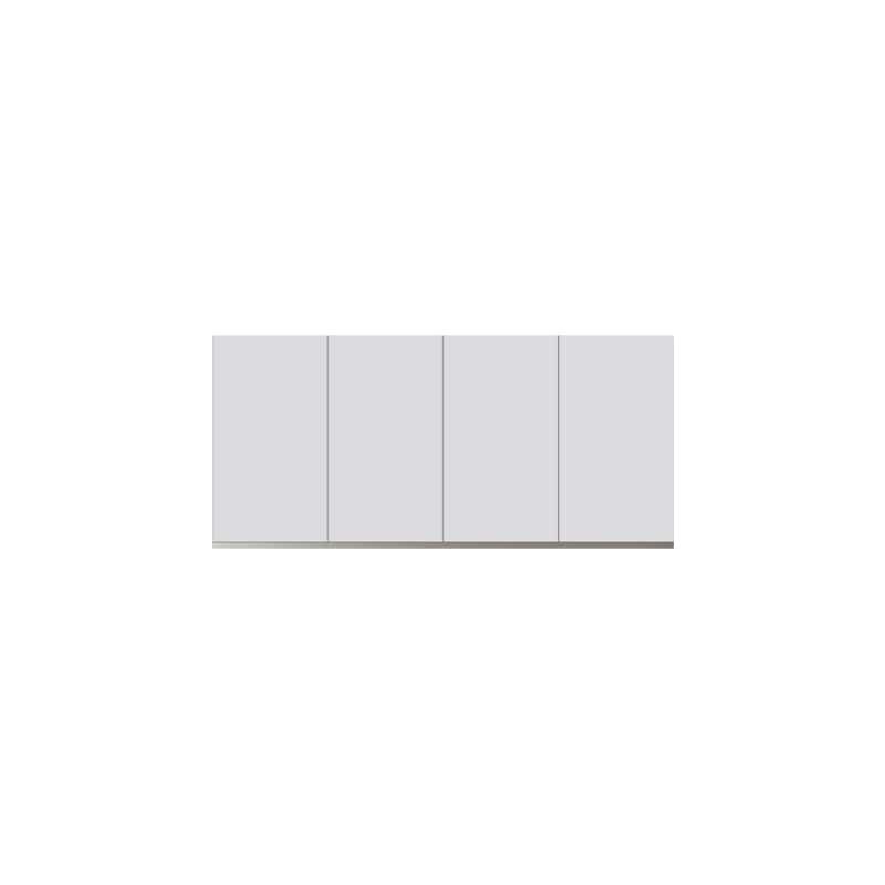 パモウナ 壁面収納 上置 CA−140U W(パールホワイト):収納をまとめてすっきり