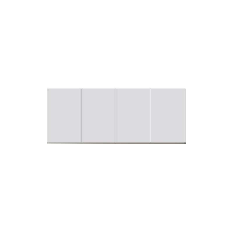 パモウナ 壁面収納 上置 CA−160U W(パールホワイト):収納をまとめてすっきり