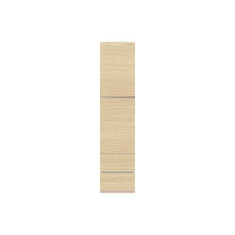 パモウナ 壁面収納 キャビネット CA−400 O(ホワイトオーク):収納をまとめてすっきり