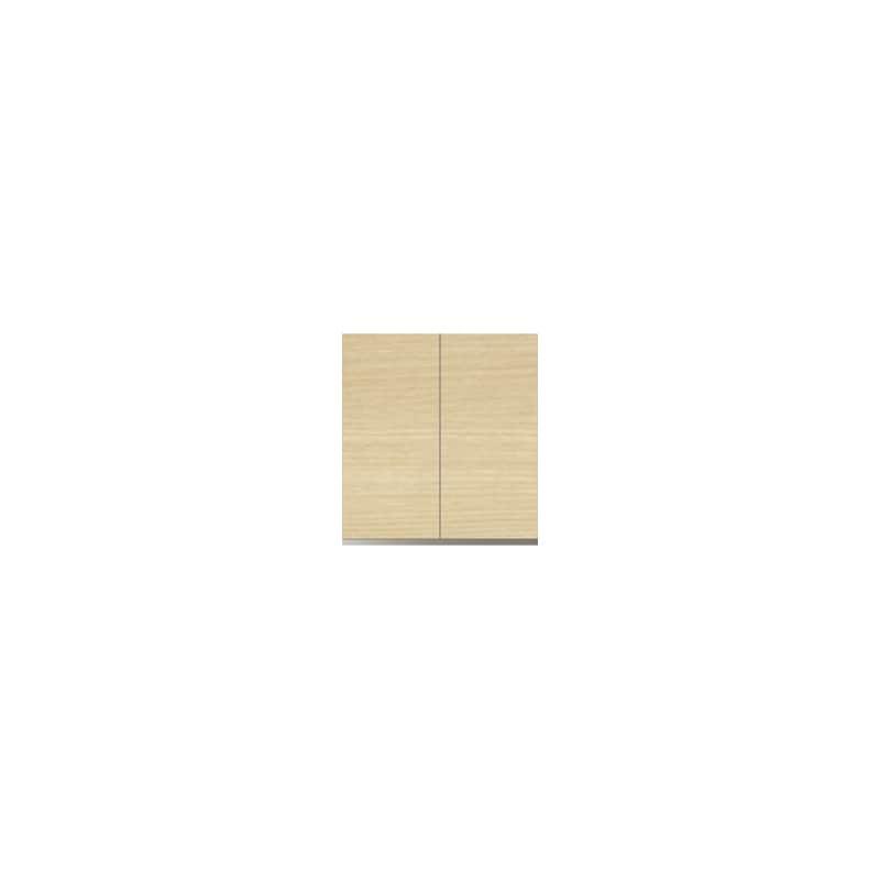 パモウナ 壁面収納 上置 CA−60U O(ホワイトオーク):収納をまとめてすっきり
