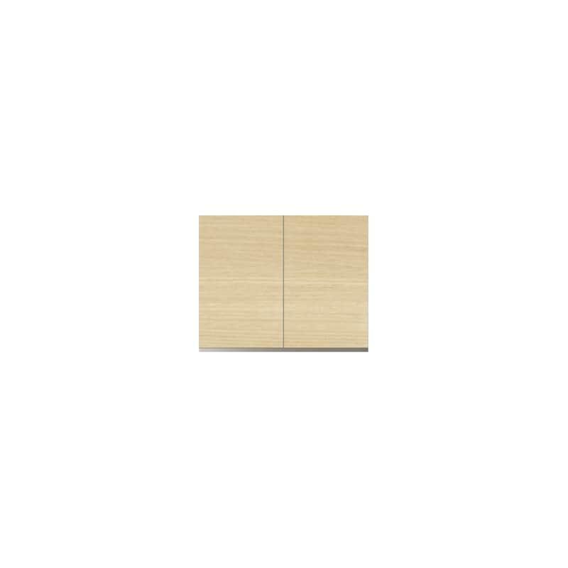 パモウナ 壁面収納 上置 CA−80U O(ホワイトオーク):収納をまとめてすっきり