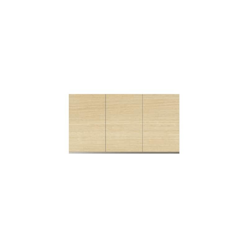 パモウナ 壁面収納 上置 CA−120U O(ホワイトオーク):収納をまとめてすっきり