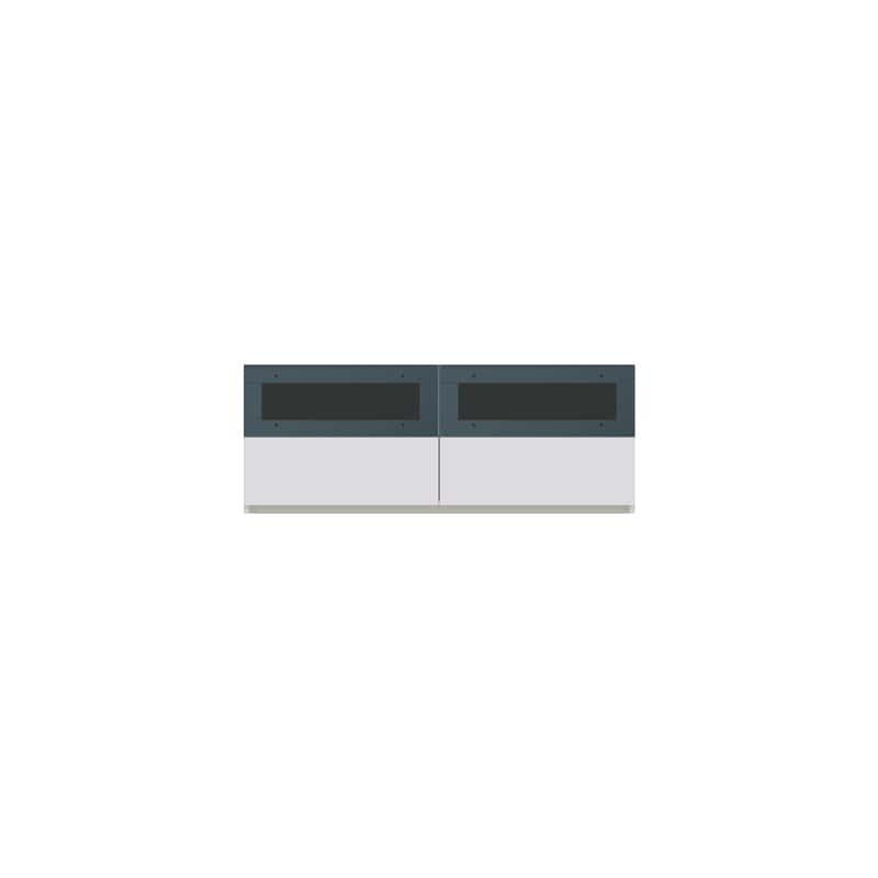 パモウナ 壁面収納CA−1200 W 下台:収納をまとめてすっきり