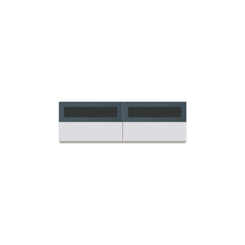 パモウナ 壁面収納CA−1400 W 下台:収納をまとめてすっきり