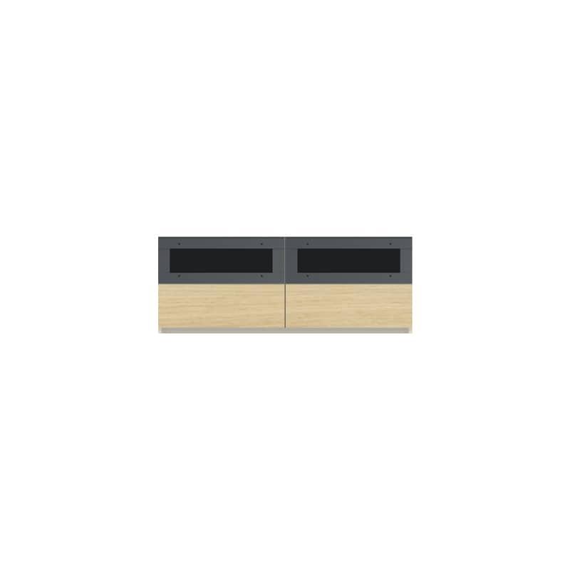 パモウナ 壁面収納CA−1200 O 下台:収納をまとめてすっきり