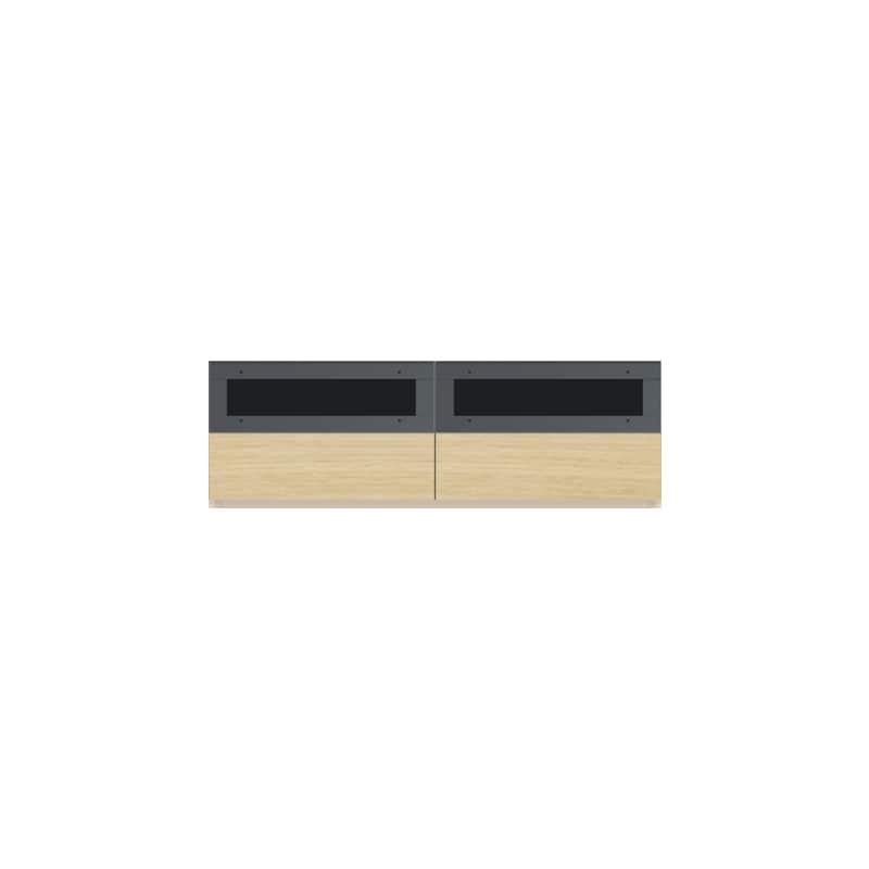 パモウナ 壁面収納CA−1400 O 下台:収納をまとめてすっきり