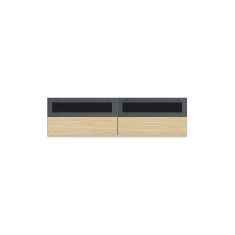 パモウナ 壁面収納CA−1600 O 下台:収納をまとめてすっきり