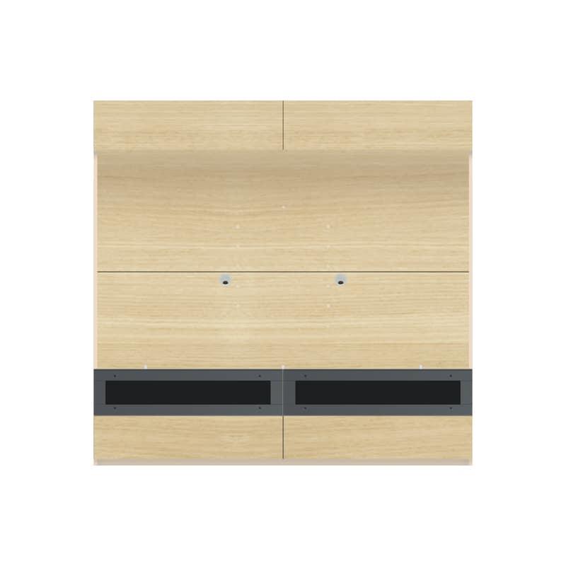パモウナ 壁面収納 TVボード【上部フラップ扉】CA−G1803 O(ホワイトオーク):収納をまとめてすっきり