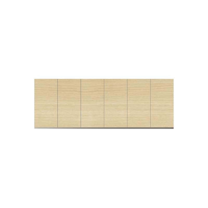 パモウナ 壁面収納 上置 CA−180U O(ホワイトオーク):収納をまとめてすっきり