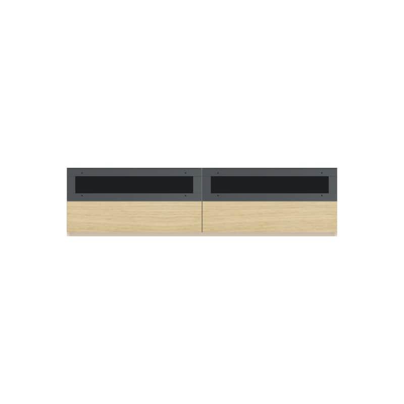 パモウナ 壁面収納CA−1803 O 下台:収納をまとめてすっきり