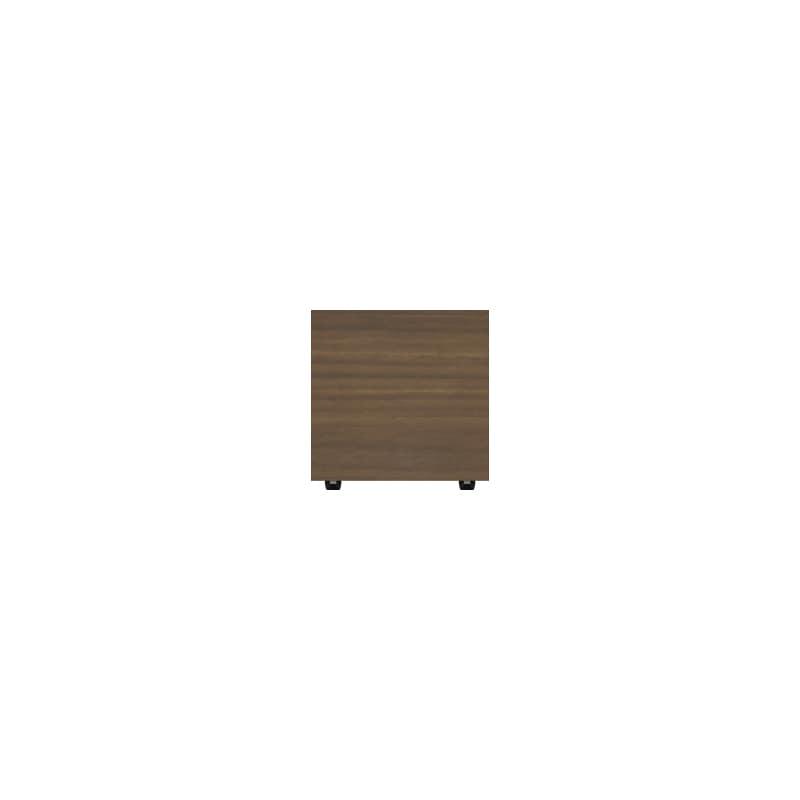 パモウナ 壁面収納 スツール【CA−600D用】CA−64W N(ウォールナット):収納をまとめてすっきり