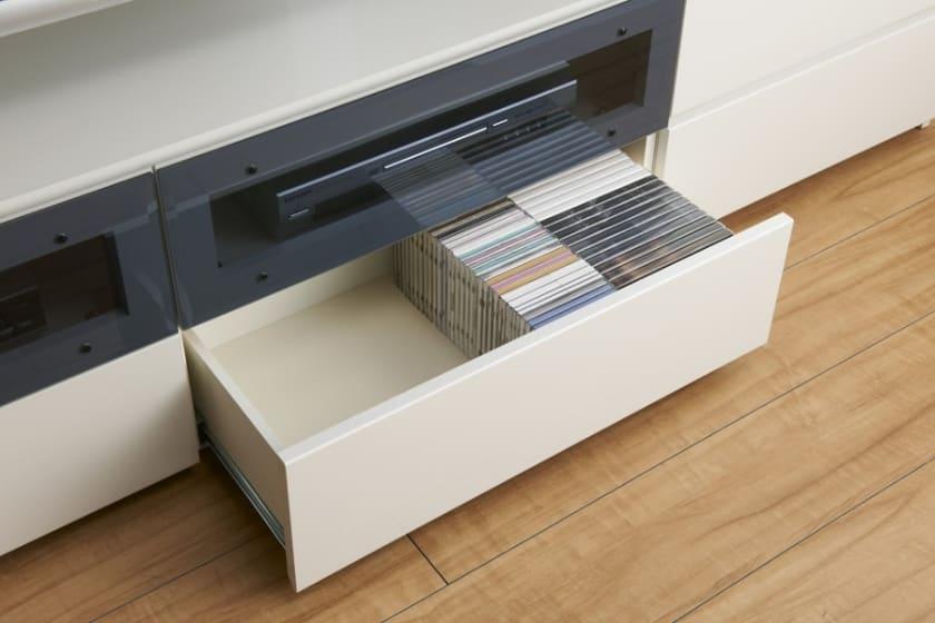 パモウナ 壁面収納 TVボード CA−1400 N(ウォールナット)