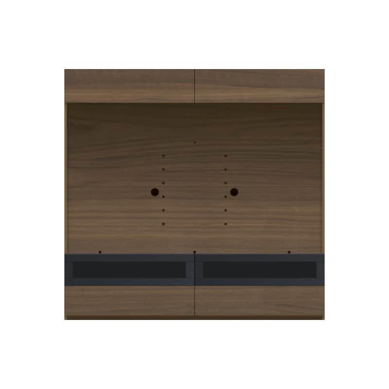 パモウナ 壁面収納 TVボード CA−1803 N(ウォールナット):収納をまとめてすっきり