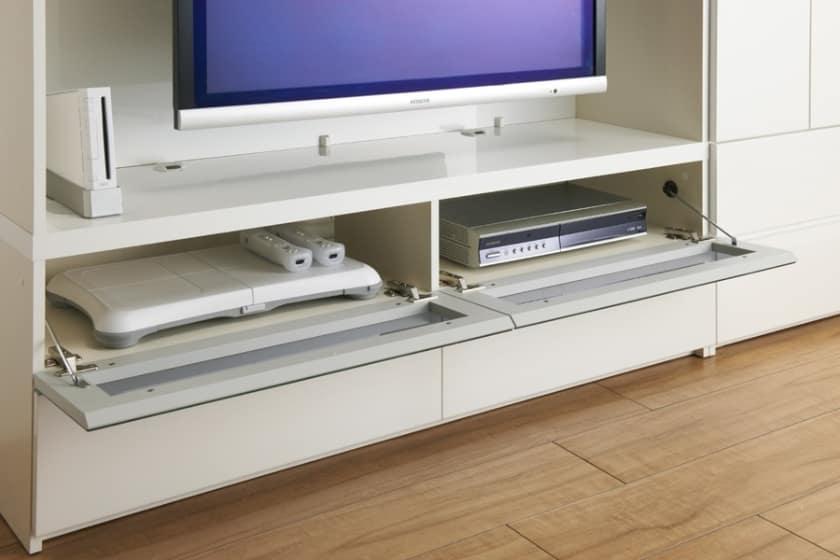 パモウナ 壁面収納 TVボード CA−G1603 N(ウォールナット)