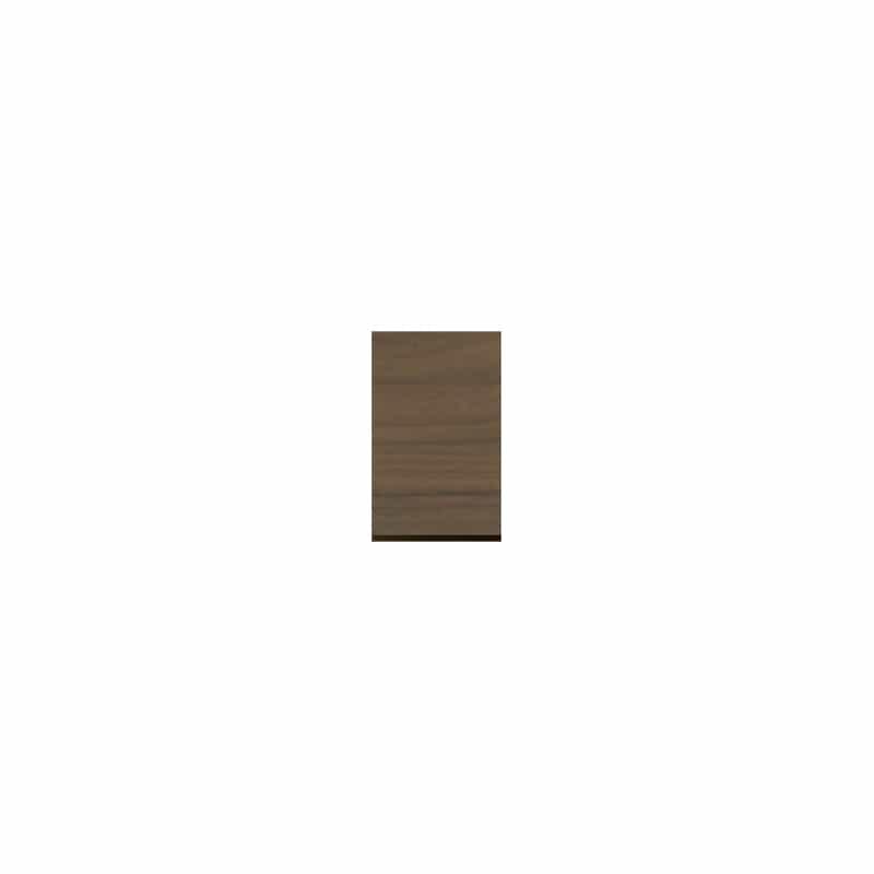 パモウナ 壁面収納 上置右開き CA−40UR N(ウォールナット)