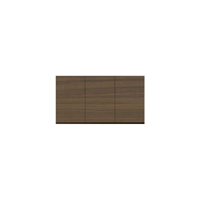 パモウナ 壁面収納 上置 CA−120U N(ウォールナット):収納をまとめてすっきり