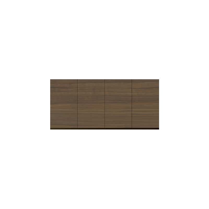 パモウナ 壁面収納 上置 CA−140U N(ウォールナット):収納をまとめてすっきり
