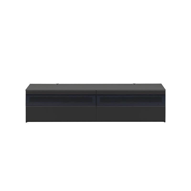 パモウナ テレビボード BW−200 Bミッドブラック:大型TVに対応