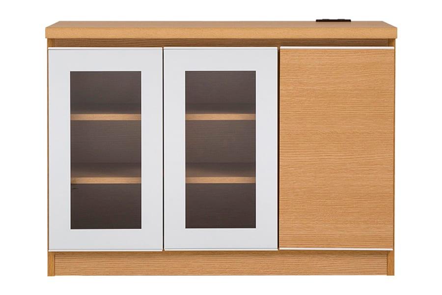 LDボード  キット100 LBR:LDボード  ※ガラス扉の周りの部分は銀色に近いお色となります。