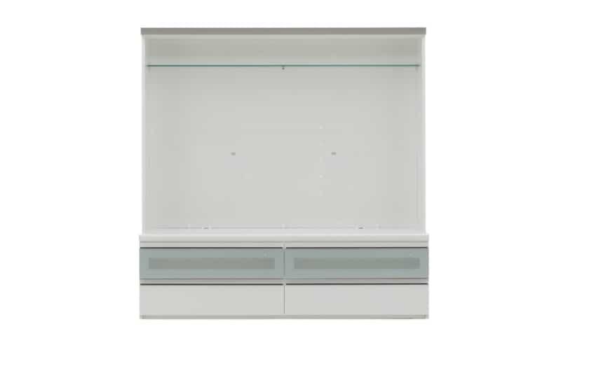 パモウナ TVボード VD-1600W (パールホワイト)