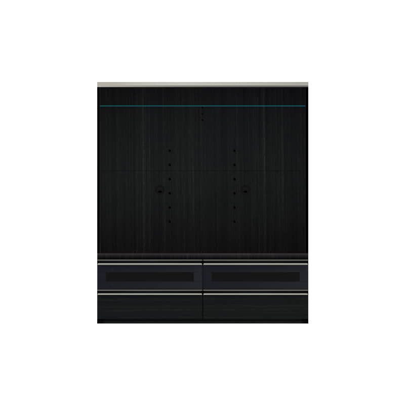 パモウナ TVボード VD-1400B (ブラックグレイン):◆多くの人に支持される安心のブランド、『パモウナ』