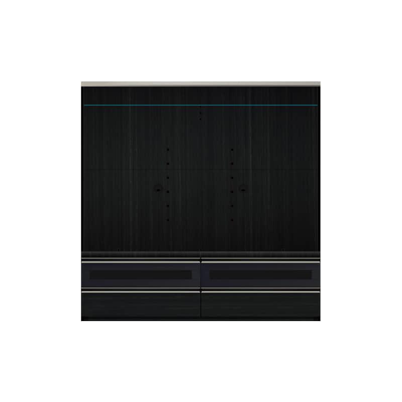 パモウナ TVボード VD-1600B (ブラックグレイン)