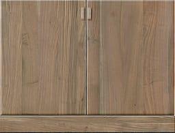 壁面収納「ムゼオ」84【下台】板扉 ウォールナット:壁面収納「ムゼオ」84【下台】板扉