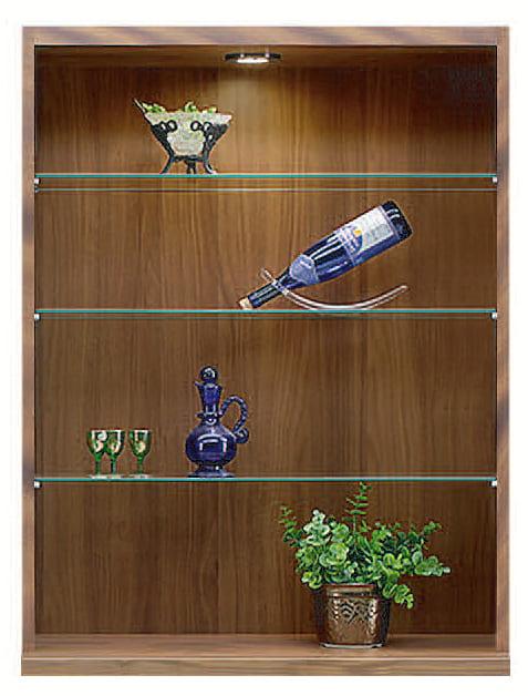 コレクションボード「ムゼオ」84【上台】オープンキャビネット ウォールナット:コレクションボード「ムゼオ」84【上台】オープンキャビネット