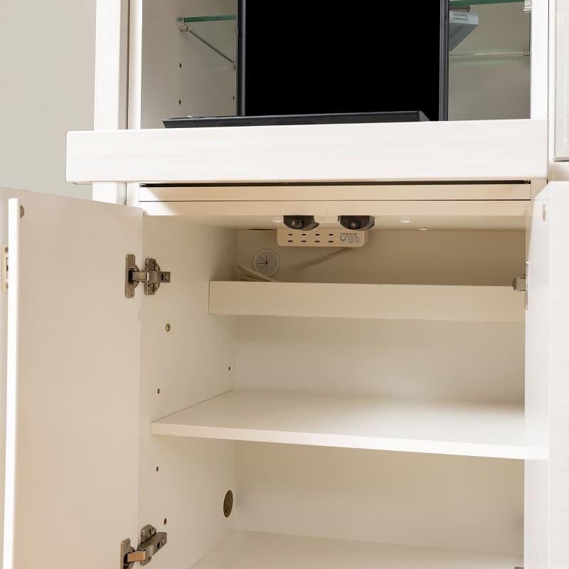 壁面TVボード リヴァ−タ 140TVB:デスク下収納