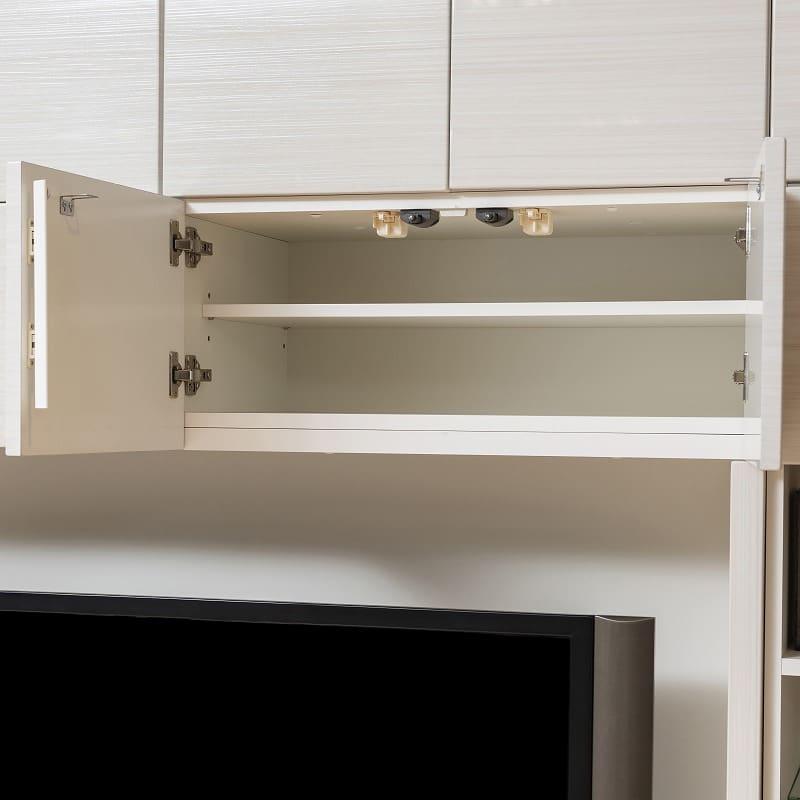 壁面TVボード リヴァ−タ 140TVB:開け閉め簡単プッシュラッチ