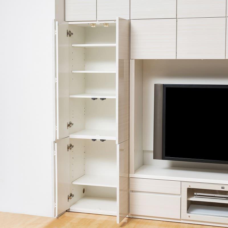 壁面TVボード リヴァ−タ 140TVB:キャビネット収納