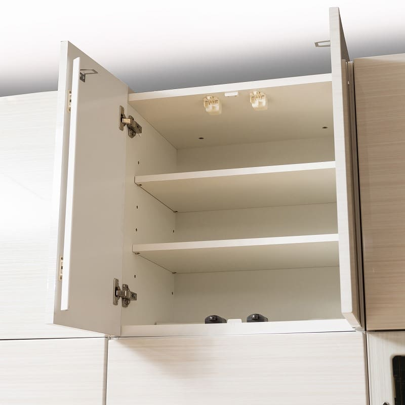 壁面TVボード リヴァ−タ 140TVB:上置きで耐震性アップ
