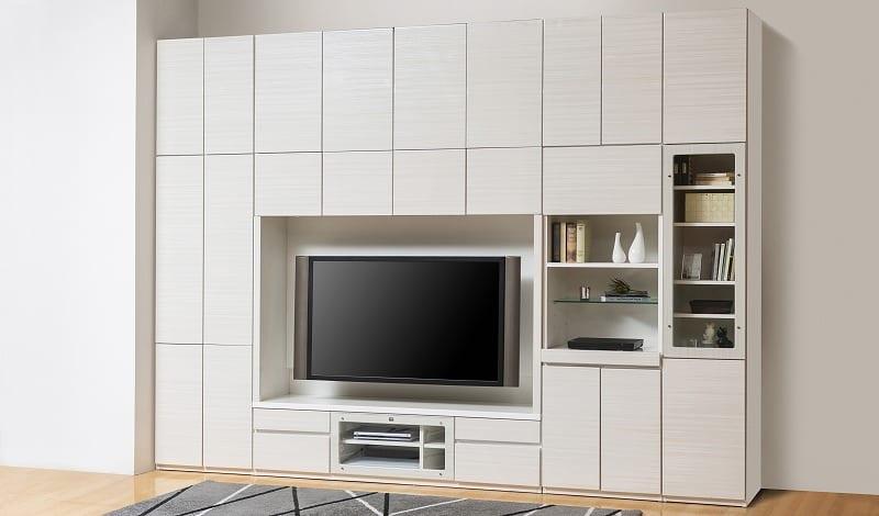 キャビネット リヴァ−タ 40CAB板戸 R:組み合わせ簡単の壁面収納