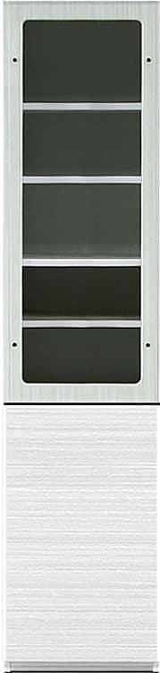 キャビネット リヴァ−タ 40CABガラス R:組み合わせ簡単の壁面収納