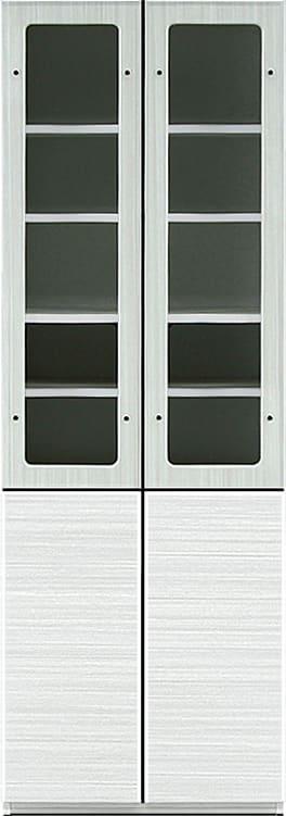 キャビネット リヴァ−タ 60CABガラス:組み合わせ簡単の壁面収納