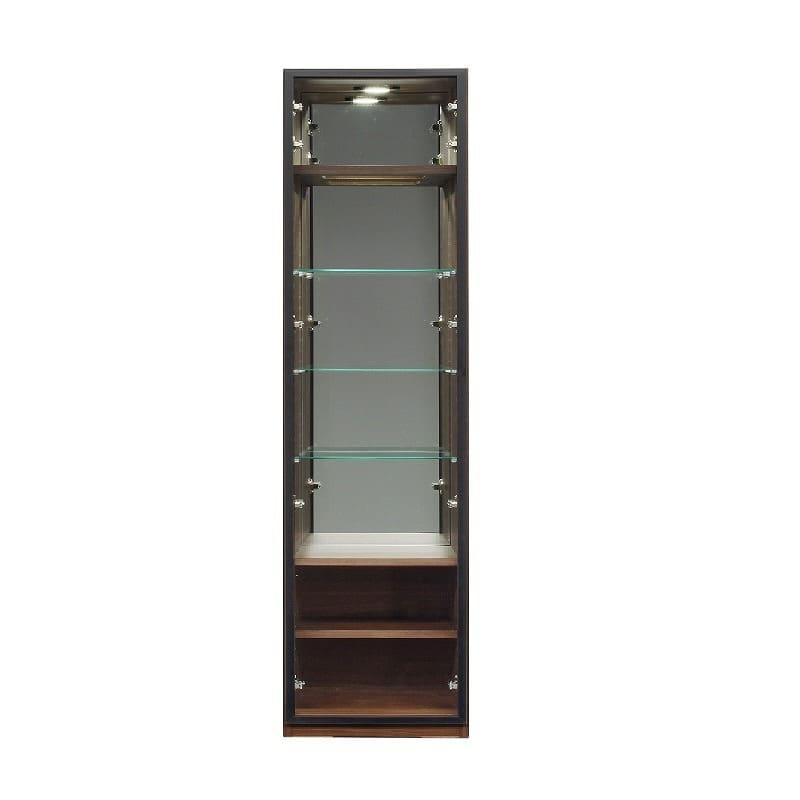 コレクションボード ヴァール幅40cm(左開き) ウォールナット:コレクションボード