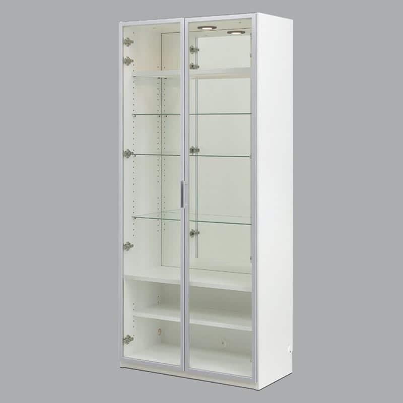 コレクションボード ヴァール幅80cm ホワイト:コレクションボード