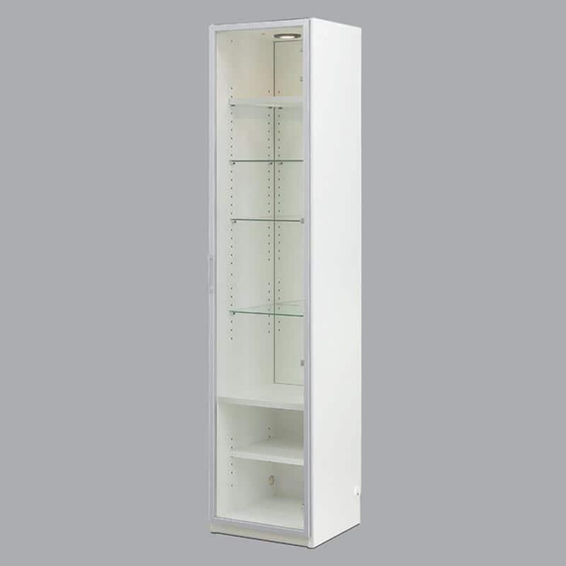 コレクションボード ヴァール幅40cm(右開き) ホワイト:コレクションボード