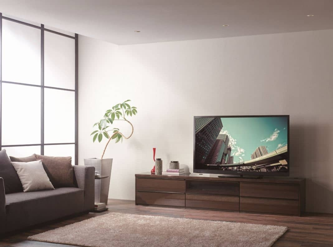 壁面収納 上台(TV) OV−180TV Q クラッシーオーク