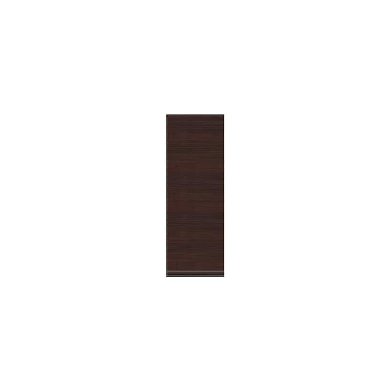 壁面収納 上台(板扉/左開) OV−43DL Q クラッシーオーク:壁面収納 上台(板扉/左開)