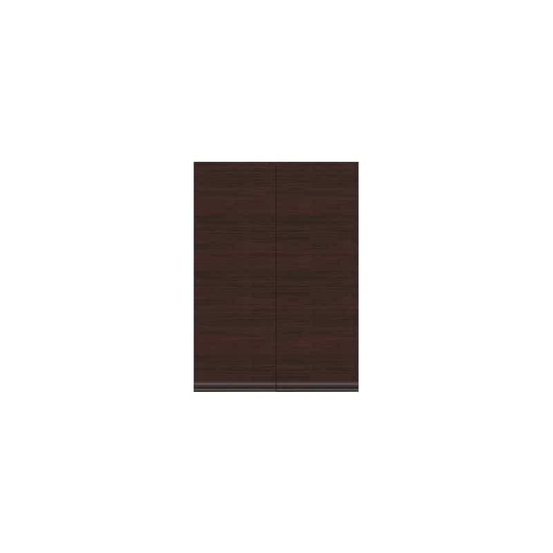 壁面収納 上台(板扉) OV−83D Q クラッシーオーク:壁面収納 上台(板扉)