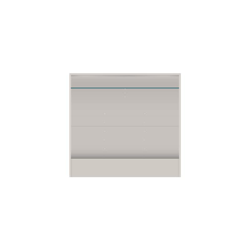 壁面収納 上台(TV) OV−120TV A シルキーアッシュ:壁面収納 上台(TV)