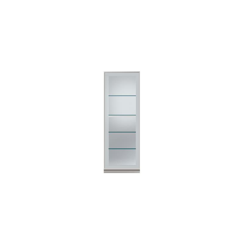 壁面収納 上台(キュリオ/左開) OV−45DL A シルキーアッシュ:壁面収納 上台(キュリオ/左開)